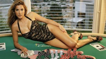video poker girl
